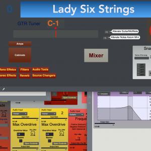 Lady Six Strings